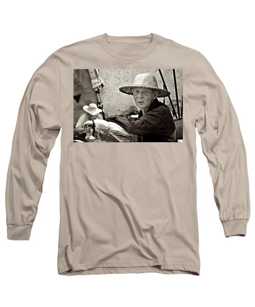 Still Working Long Sleeve T-Shirt by Valerie Rosen
