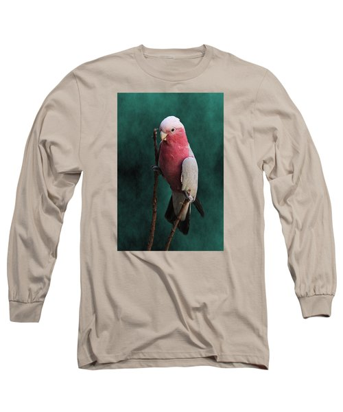 Stiltwalker - Roseate Cockatoo Long Sleeve T-Shirt