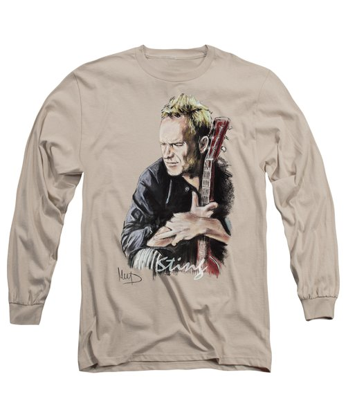 Sting Long Sleeve T-Shirt by Melanie D