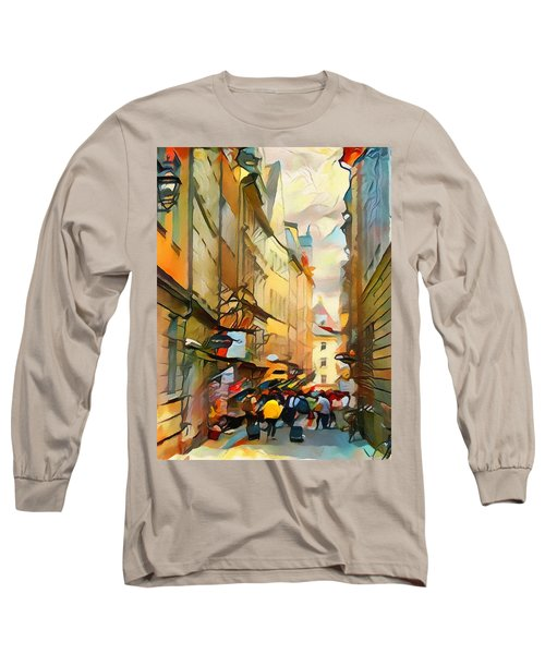 Stockholm Galmastan Town 9 Long Sleeve T-Shirt