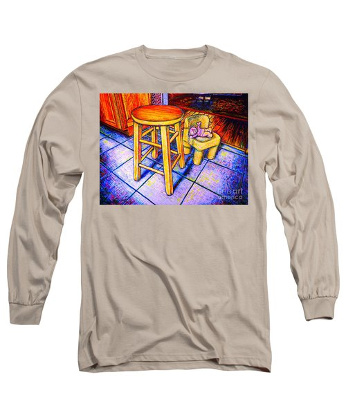 Stool Long Sleeve T-Shirt by Viktor Lazarev