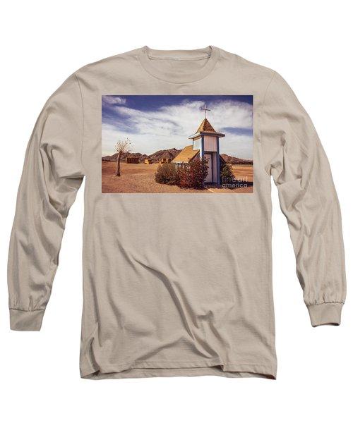 Stop Rest Worship Long Sleeve T-Shirt by Robert Bales