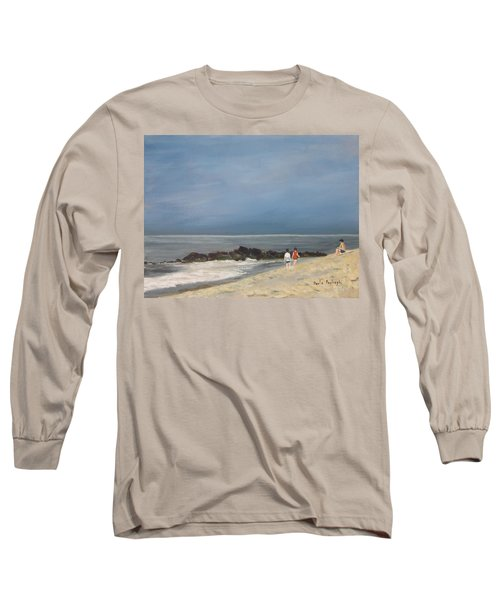 Storm Out To Sea Long Sleeve T-Shirt