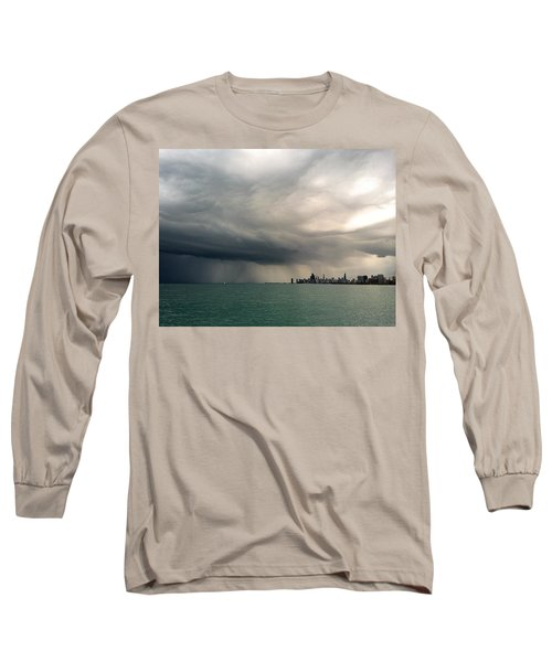 Storms Over Chicago Long Sleeve T-Shirt