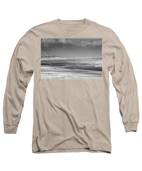 Stormy Oceanside Oregon Long Sleeve T-Shirt