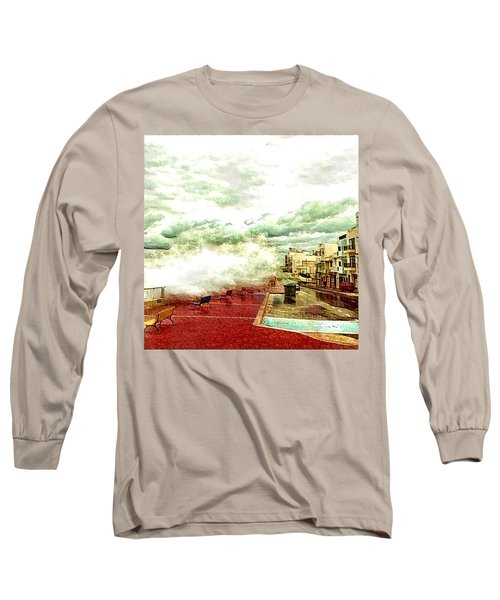 Stormy Sea Long Sleeve T-Shirt