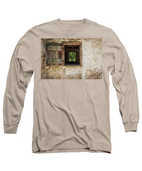 Straight Through Long Sleeve T-Shirt