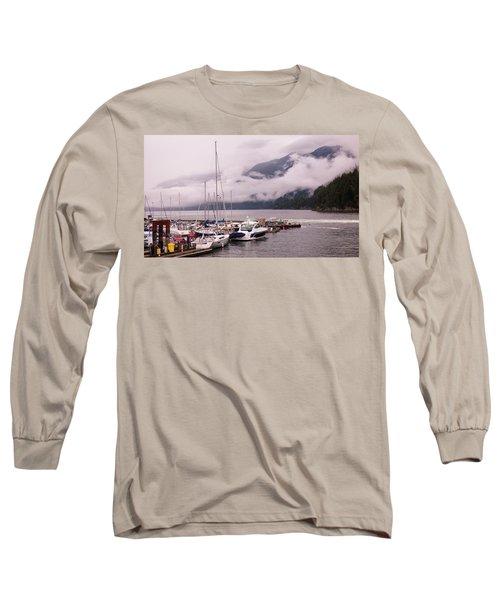 Stratus Clouds Over Horseshoe Bay Long Sleeve T-Shirt