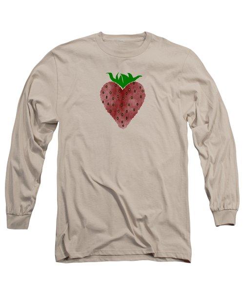 Strawberries Long Sleeve T-Shirt by Kathleen Sartoris