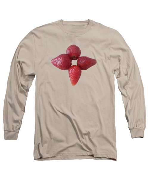 Strawberry Flower Long Sleeve T-Shirt