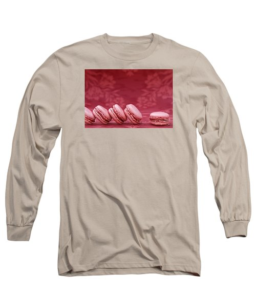 Strawberry Macarons Long Sleeve T-Shirt
