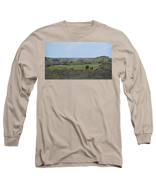 Streamsong Golf Course Long Sleeve T-Shirt by Carol  Bradley