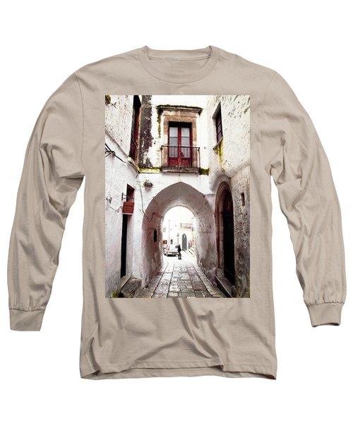Streets Of Ostuni Long Sleeve T-Shirt