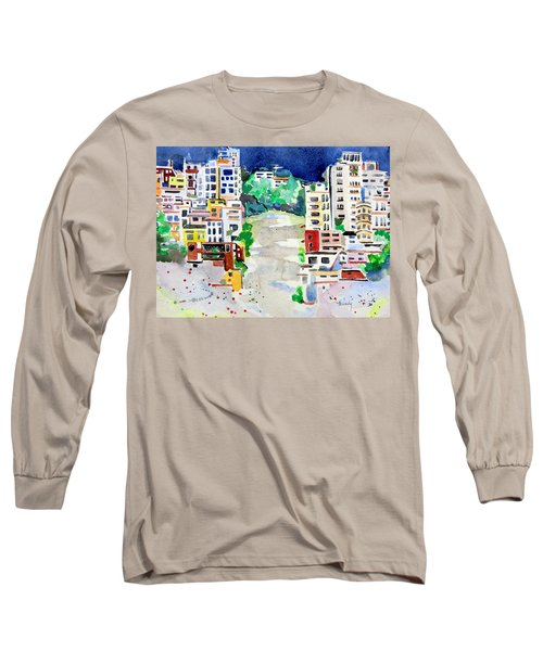 Streets Of San Francsico Long Sleeve T-Shirt