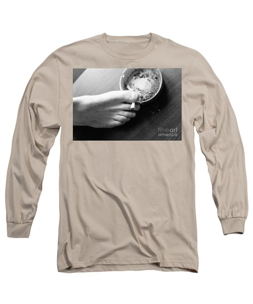 Stress Long Sleeve T-Shirt by Steven Macanka