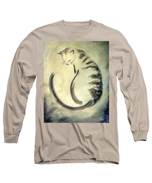 Stripey Cat 1  Long Sleeve T-Shirt