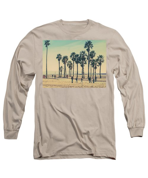Stroll Down Venice Beach Long Sleeve T-Shirt