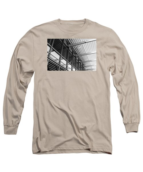 Long Sleeve T-Shirt featuring the photograph Structure Abstract 9 by Cheryl Del Toro