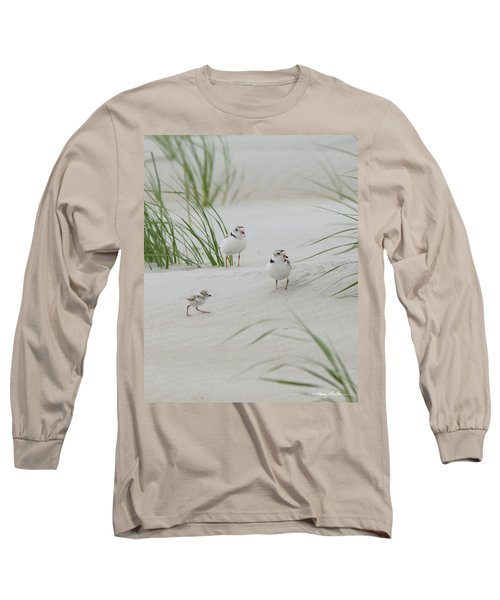 Struggle In The Blowing Sand Long Sleeve T-Shirt