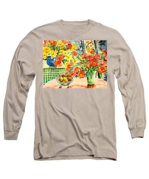 Studio Still Life Long Sleeve T-Shirt by Alexandra Maria Ethlyn Cheshire
