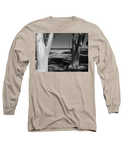Study In Black And White Long Sleeve T-Shirt
