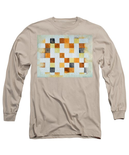 Study In Yellow And Gold Long Sleeve T-Shirt