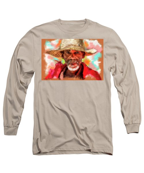 Study Of An Old Man Long Sleeve T-Shirt