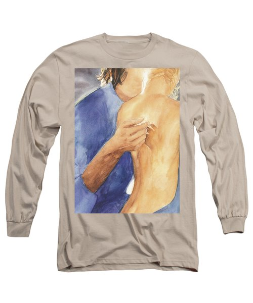 Study Of Lovers  Long Sleeve T-Shirt by Vicki  Housel
