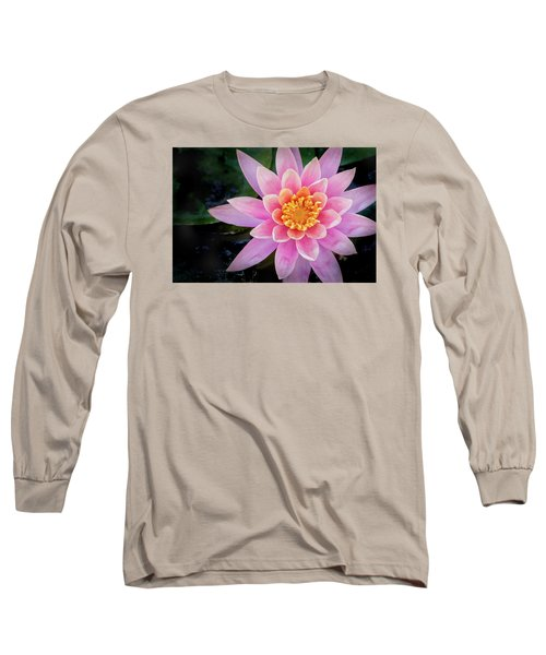 Stunning Water Lily Long Sleeve T-Shirt