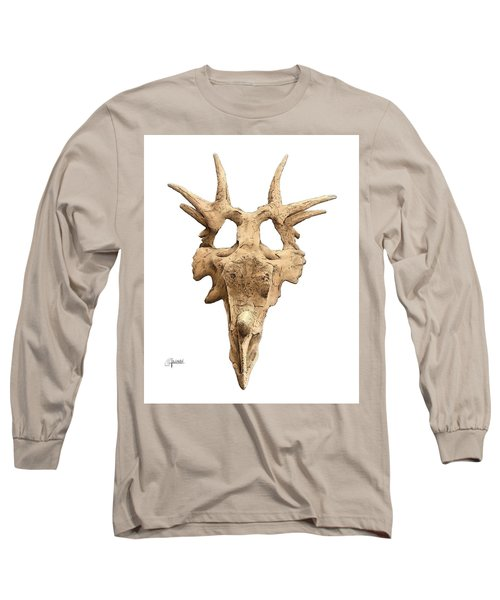 Styracosaur Skull Long Sleeve T-Shirt