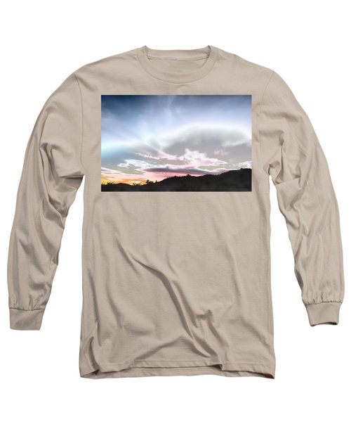 Submarine In The Sky Long Sleeve T-Shirt