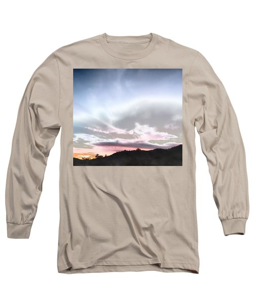 Submarine In The Sky Long Sleeve T-Shirt
