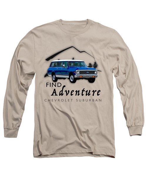 Suburban Adventure Long Sleeve T-Shirt