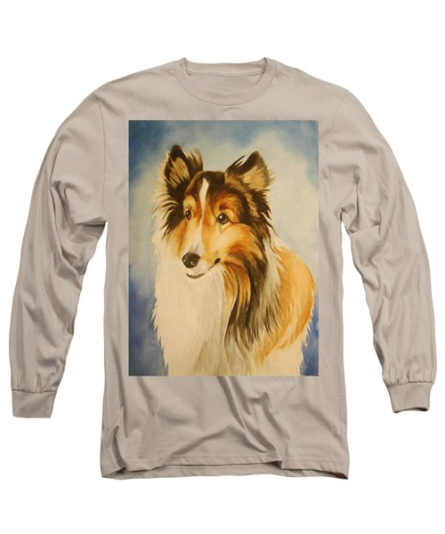 Long Sleeve T-Shirt featuring the painting Sugar by Marilyn Jacobson