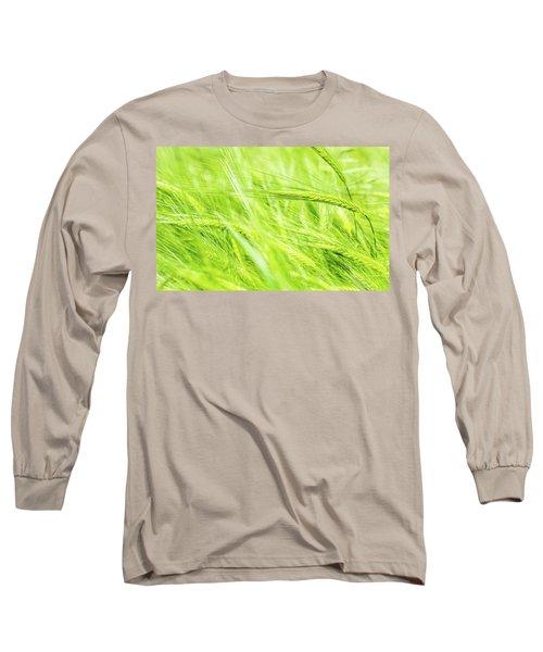 Summer Barley. Long Sleeve T-Shirt
