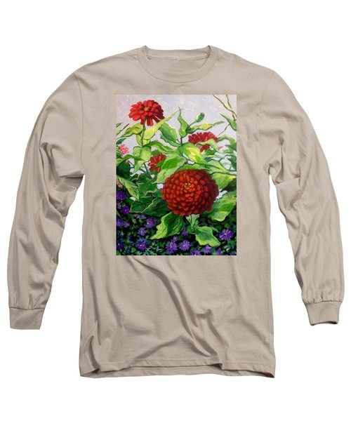 Summer Flowers 3 Long Sleeve T-Shirt