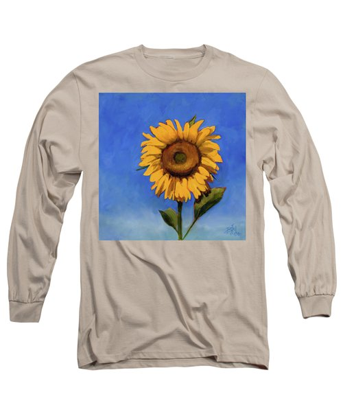 Long Sleeve T-Shirt featuring the painting Summer Fun by Billie Colson