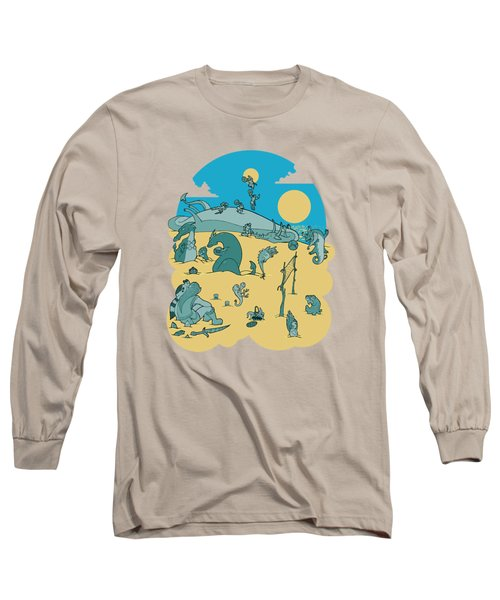 Summer Game On Vacation  Long Sleeve T-Shirt