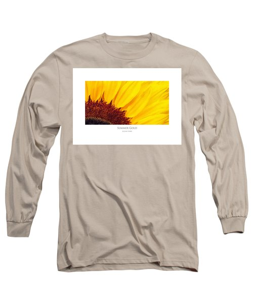 Summer Gold Long Sleeve T-Shirt