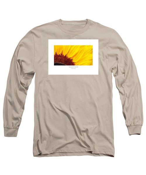 Summer Gold Long Sleeve T-Shirt