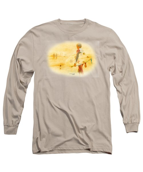 Long Sleeve T-Shirt featuring the painting Summer II by Chris Armytage