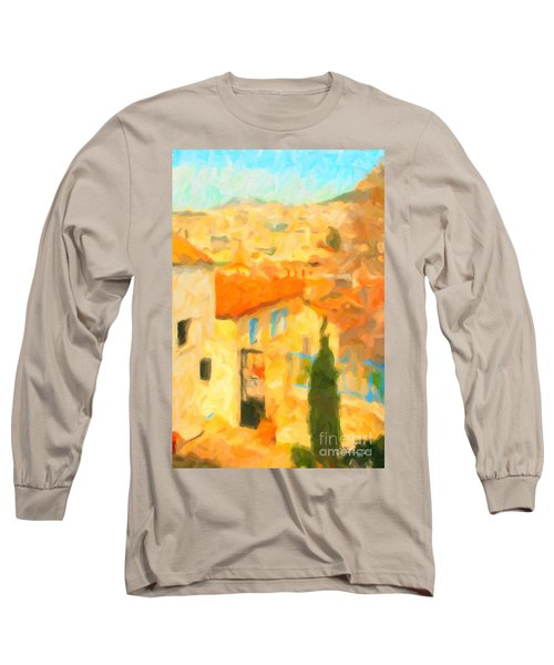 Summer In Athens Long Sleeve T-Shirt