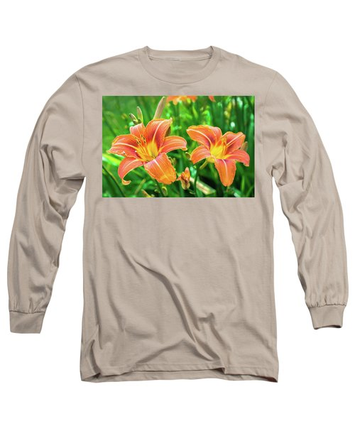Long Sleeve T-Shirt featuring the photograph Summer Jubilation by Bill Pevlor