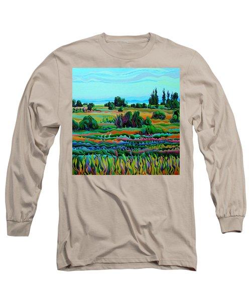 Summer Meadow Dance Long Sleeve T-Shirt