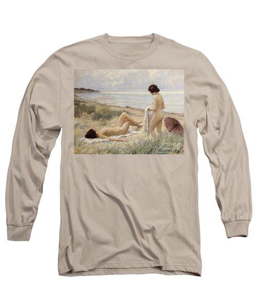 Summer On The Beach Long Sleeve T-Shirt