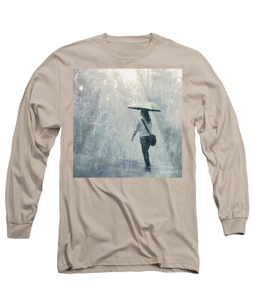 Summer Rain Long Sleeve T-Shirt by LemonArt Photography