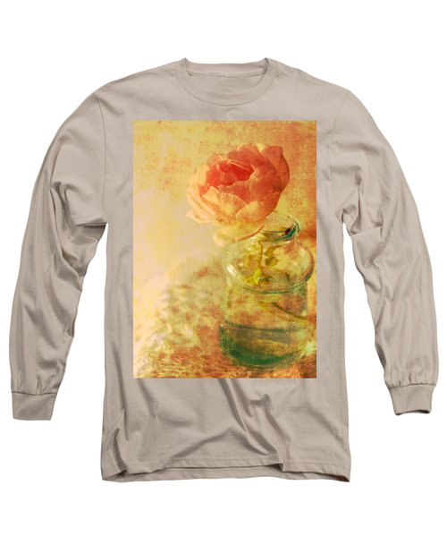 Summer Rose Long Sleeve T-Shirt by Catherine Alfidi