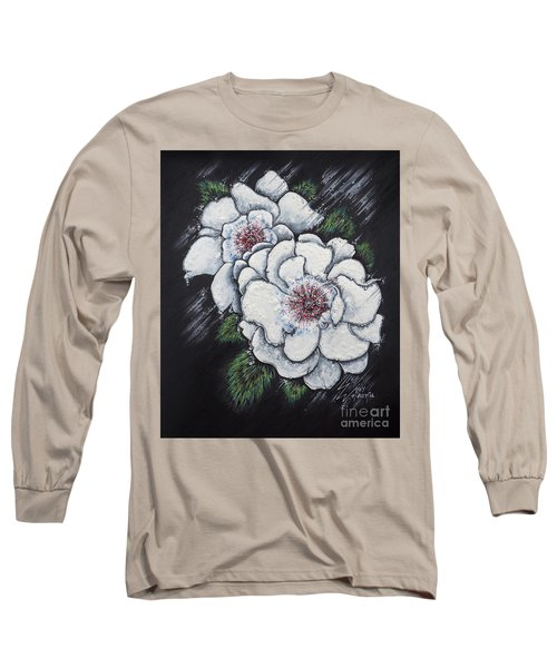 Summer Roses Long Sleeve T-Shirt by Scott and Dixie Wiley