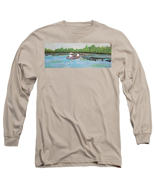 Summer Rowing Long Sleeve T-Shirt
