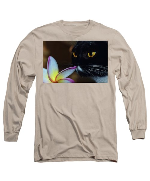 Summer Sniffing Plumaria Long Sleeve T-Shirt